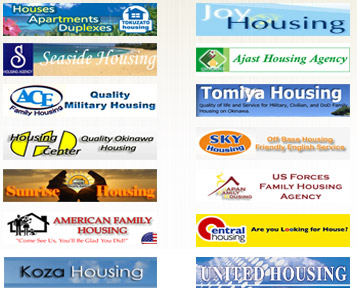All Okinawa Housing Agencies available on Shisa Housing